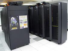 Photo of GPU cluster