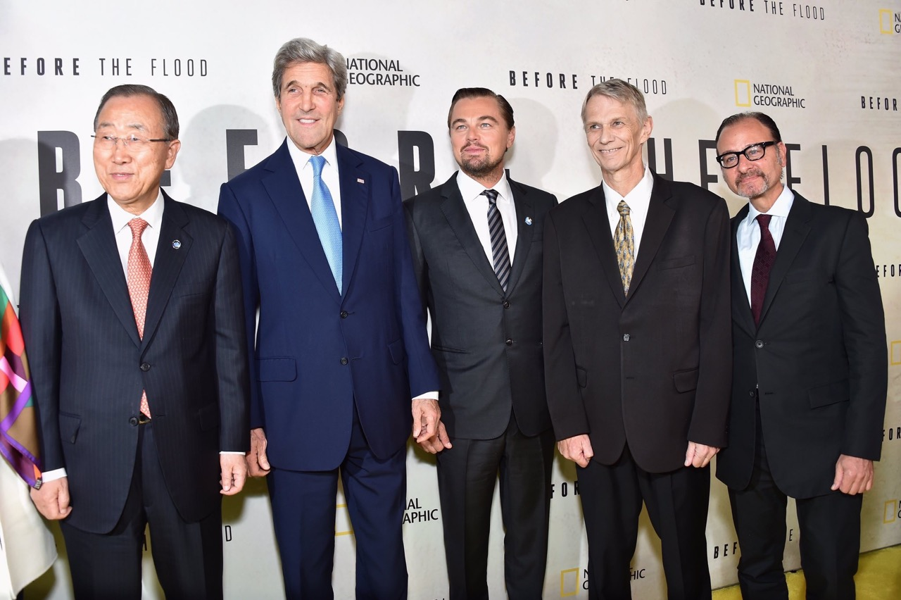 photo of five men in suits