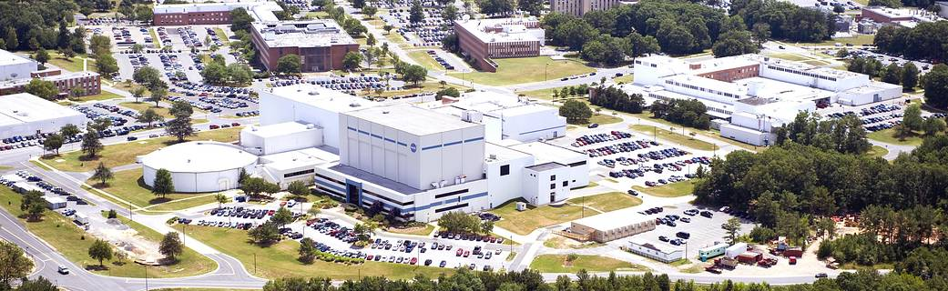 aerial view of Goddard